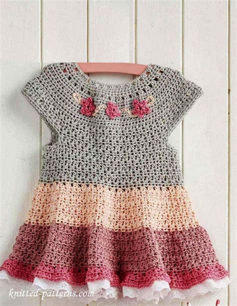 Pattern Crochet Clothes | free crochet dress pattern ƭɽღ https www pinterest com