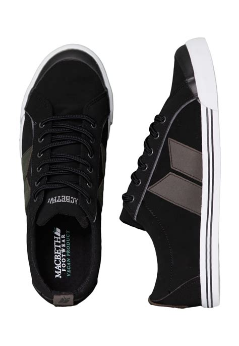 Macbeth Premium macbeth eliot premium black grey shoes