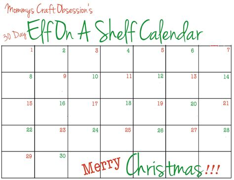 christmas printable 2014 calendar template calendar