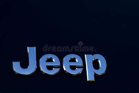 jeep car logo jeep car logo editorial photography image of horsepower