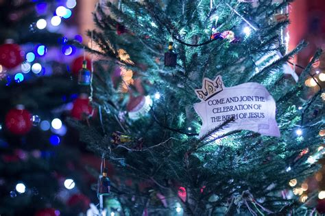 christianity and the christmas tree in pictures willowfield s tree festival christian news on christian today