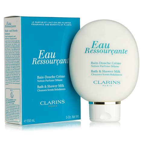 clarins bath and shower milk clarins eau ressourcante bath shower milk 150ml