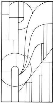 Art Deco Templates Free Art Deco Stained Glass Pattern Glass Mosaic Amp Quilt