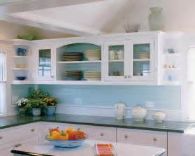 Cottage Kitchen Backsplash by Horizontal Beadboard Backsplash Painted Pretty Colour