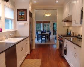 Galley Style Kitchen Remodel Ideas Traditional Galley Kitchen Beautiful Homes Design