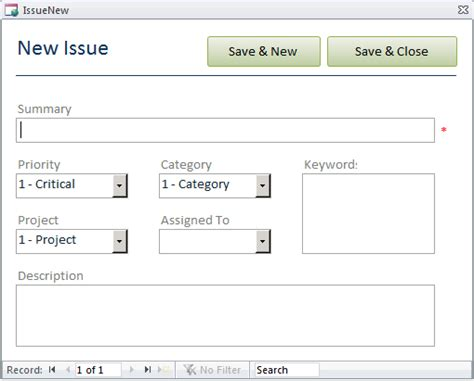Issues Web Database For Microsoft Task Access Microsoft Access Login Form Template