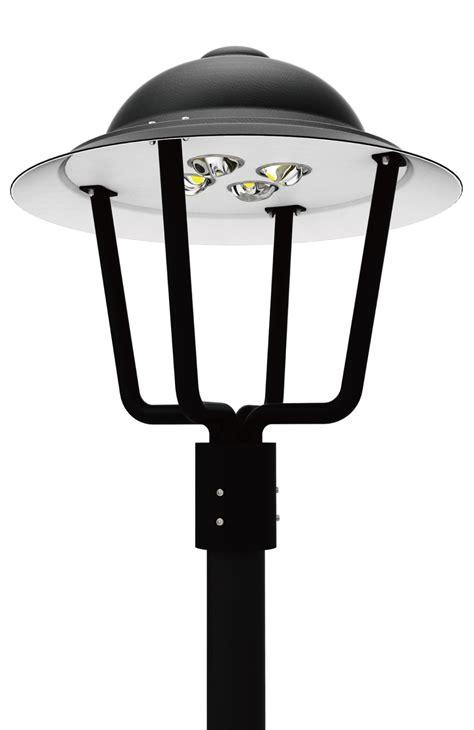 led pt  series led post top area light fixtures