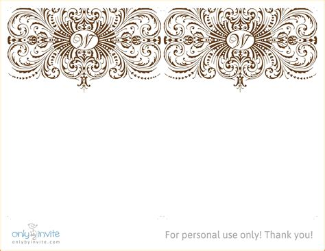 Free Wedding Invitation Templates For Word Marina Gallery Fine Art Wedding Template