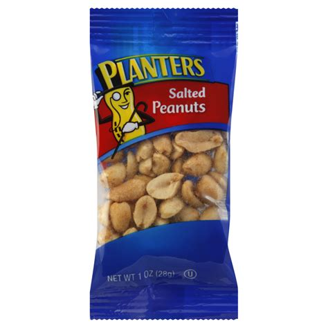 planters salted peanuts planters peanuts 1 oz