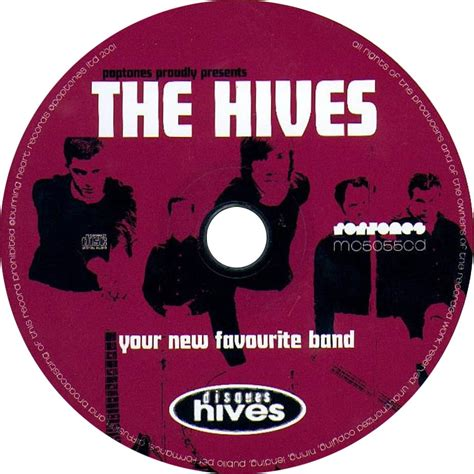 Cd The Hives Your New Favourite Band Digi Obi the hives your new favourite band freegetix