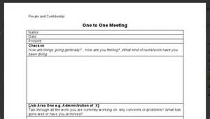 One One One Meeting Template by One On One Agenda Template 3 Best Agenda Templates
