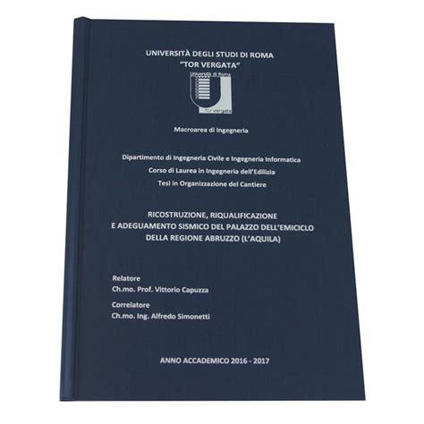librerie universitarie roma sta e rilegatura tesi di laurea roma texmat