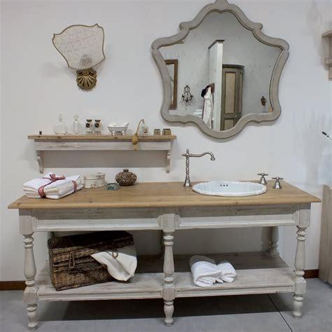 arredo bagno in legno composizione arredo bagno in legno di abete artigianale