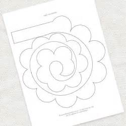Rose Templates Free 7 Best Images Of Printable Templates Paper Flower Paper
