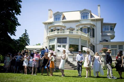 spadina museum historic house gardens stock images gatsby and all that jazz draw a crowd at museum toronto star
