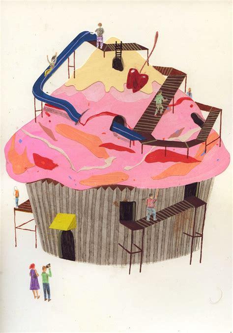 ferrall pattern works drew beckmeyer illustrators pinterest cupcake life