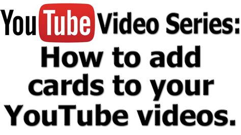 How To Add A Gift Card To My Starbucks App - how to add cards to your youtube videos tutorial youtube
