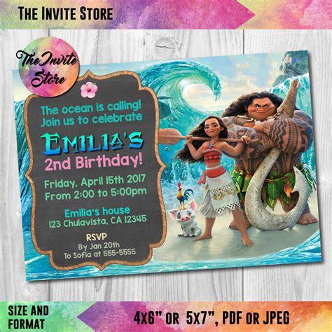Invitation Card Moana moana invitation wording theruntime