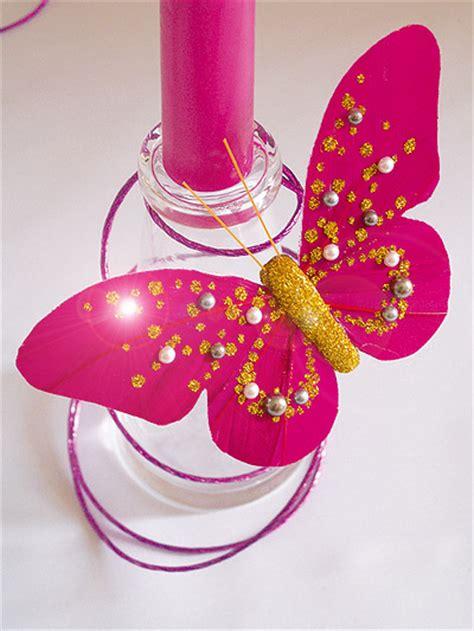Decor Papillon by Lot De 2 Papillons Sur Pince Perles Et Paillettes