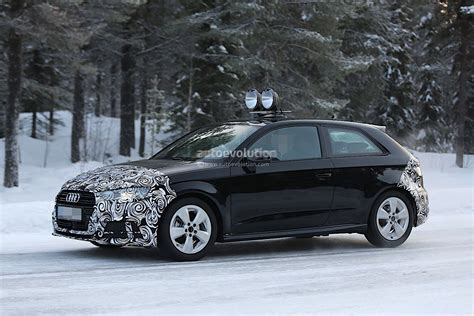 Facelift Audi A3 by Audi A3 Hatchback Facelift Partially Revealed In Fresh