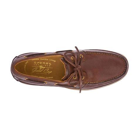 sperry cup 2 eye boat sneaker sperry mens gold cup asv 2 eye boat shoe ebay