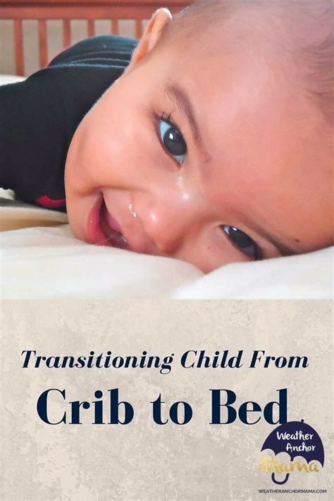 crib to bed age at what age should a child move from crib to bed
