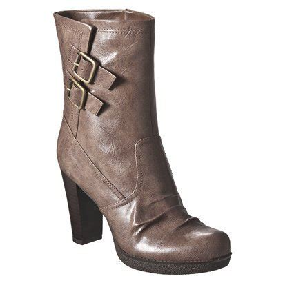 women s mossimo 174 keeley heeled boots target clearance