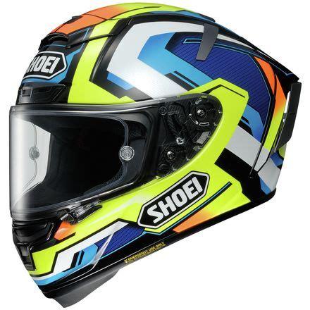 Shoei X14 Brink Tc 10 Yellow Blue shoei x 14 helmet brink motosport