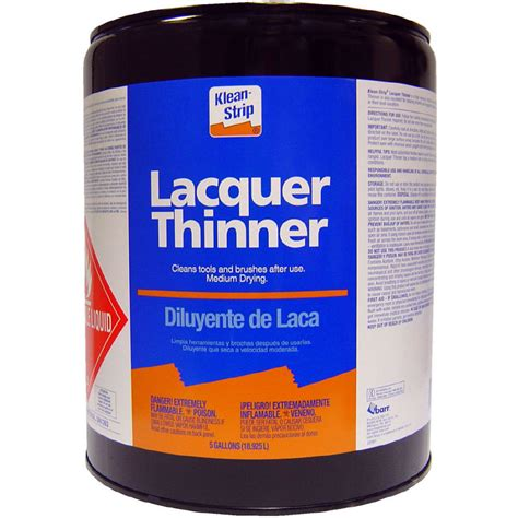home depot paint thinner shop klean 5 gallon lacquer thinner at lowes