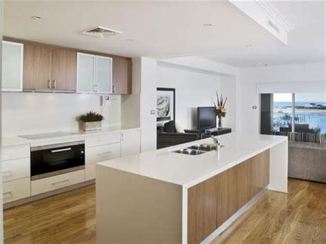 modern kitchen colours timber and white marble contemporary timber looks pinterest island bench modern kitchens