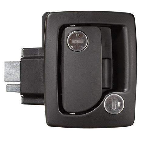 Trailer Door Lock by Travel Trailer Entrance Door Locks With Deadbolt Black
