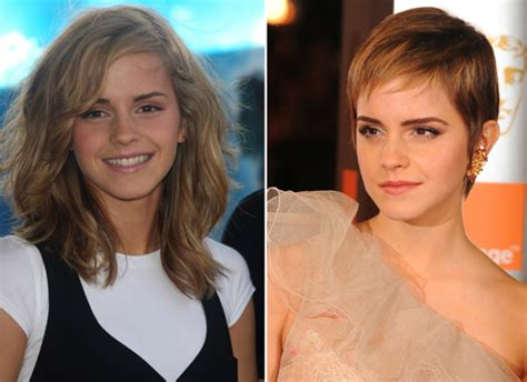 before and after picuters of long to short hair women should never cut their hair
