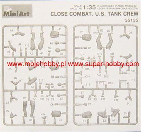 Miniart 35135 1 35 Combat Us Tank Crew combat u s tank crew miniart 35135