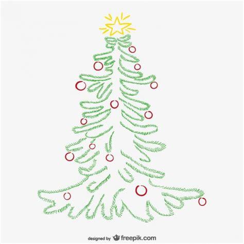 minimalistischen weihnachtsbaum mit ornamenten download