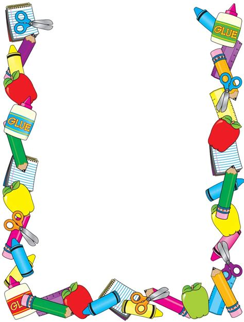 imagenes escolares bonitas rayito de colores marcos escolares