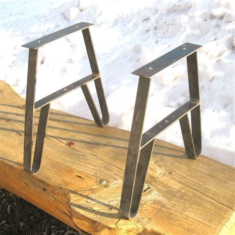 diy table steel legs metal table leg set use as bench legs or coffeetable legs usa made