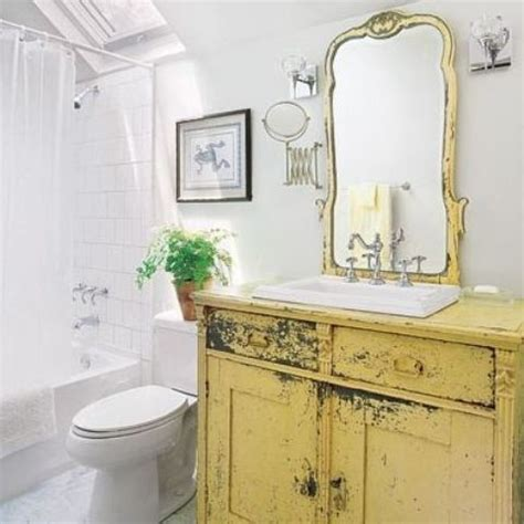 how to make a dresser into a bathroom vanity 29 vintage and shabby chic vanities for your bathroom