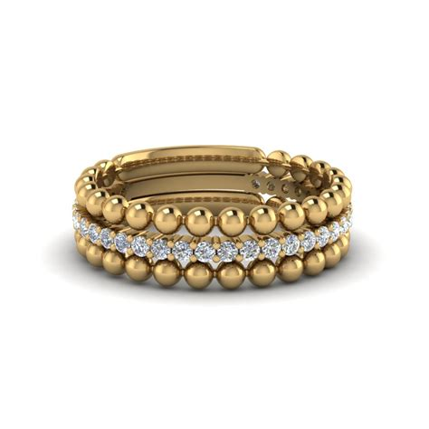 stackable rings bands fascinating diamonds