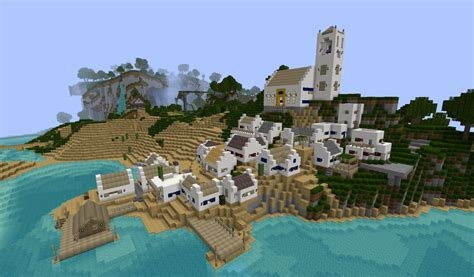 small villages small fishing village minecraft project