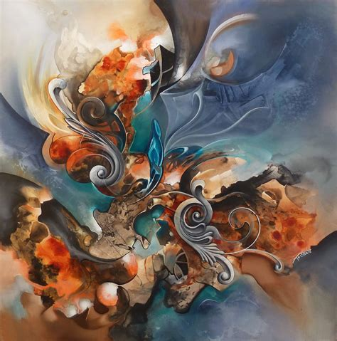 Cuiracao Abstract Painting By Amytea On Deviantart