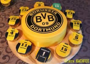 kuchen dortmund backno 233 bvb torte und cupcakes