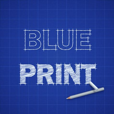 creating a blueprint how to create a blueprint text effect in adobe illustrator