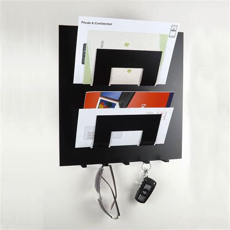 Letter Display letter rack and key holder by the metal house limited