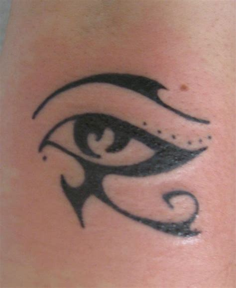 eye of horus tattoo design attractive horus eye design tattooshunt