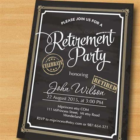 retirement invitation 25 best ideas about retirement on