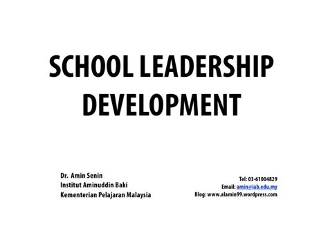 leading change together developing educator capacity within schools and systems books school leadership development