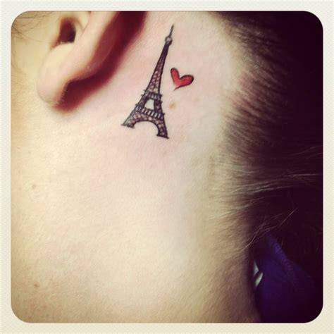 eiffel tower tattoo tiny eiffel tower search taˈto o
