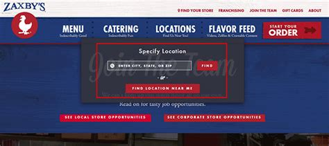 zaxby s job application apply online
