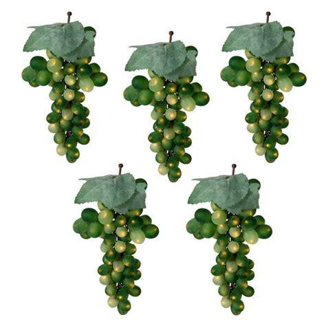 in a string of 12 tree light bulbs vickerman 17189 led grapes light string set