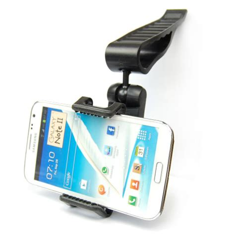 sale universal car sun visor mount holder stand for iphone 6 5s 5 for samsung galaxy s3 s4